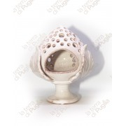 Glazed Ceramic Candle Holder PUMO