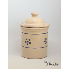 Terracotta container jar