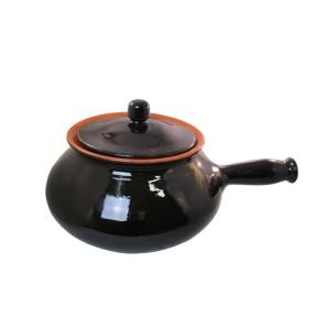 Terracotta pot for potatoes