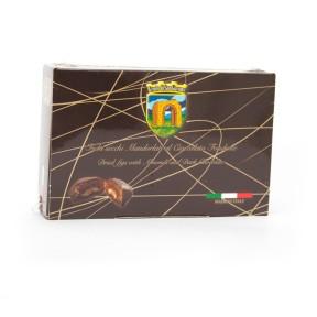 Figues aux amandes enrobées de chocolat