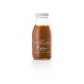 Sauce artisanale au thon et câpres 250 g