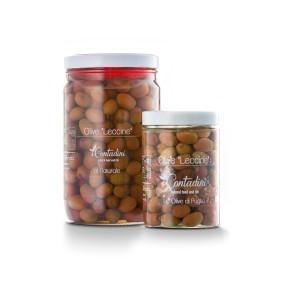 'Leccine' rote Oliven