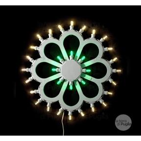 Lumière fleur de marguerite
