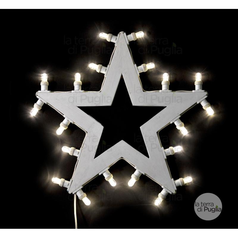 Luminaria a forma di stella