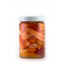 Giardiniera (Mixed sweet and sour Vegetables)