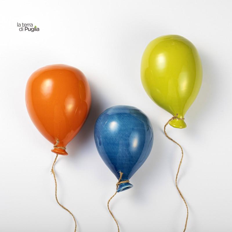 Farbige Keramikballons