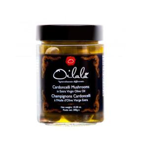 Cardoncelli mushrooms in oil