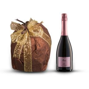 Vin mousseux artisanal et panettone des Pouilles