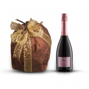 Artisanal sparkling wine and panettone from Puglia