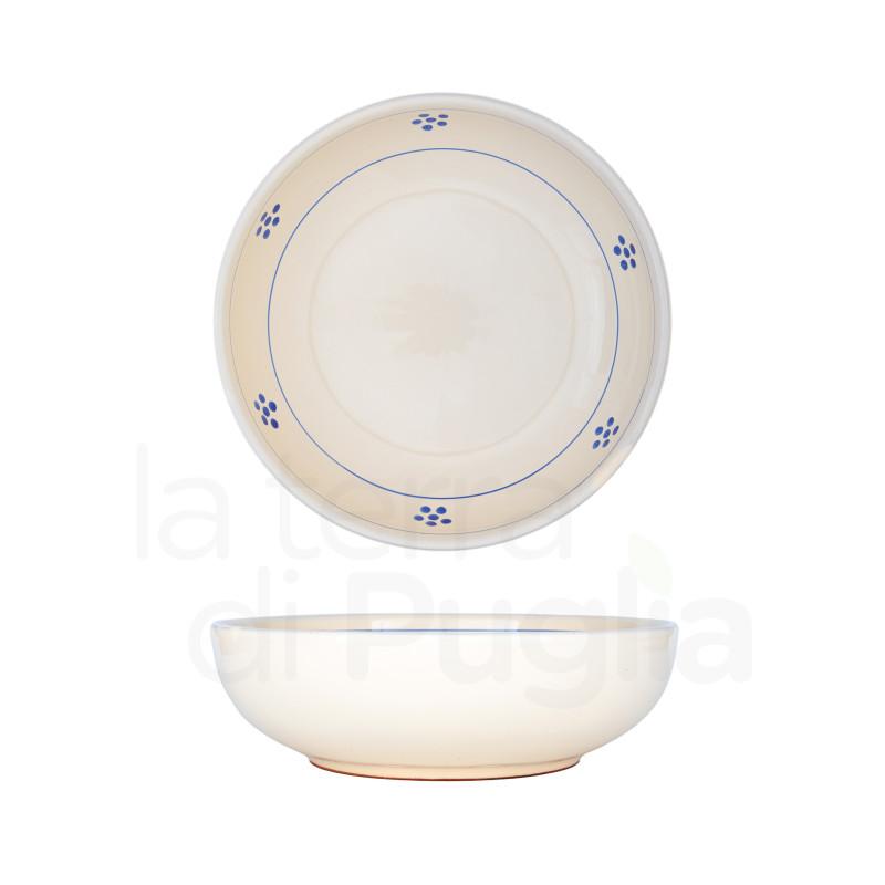 Pottery Soup Bowl 19cm