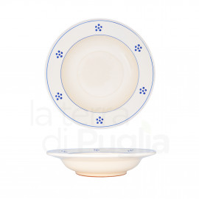 Pottery Soup Plate 23 cm