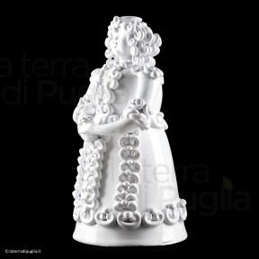 Princesse en céramique à la main