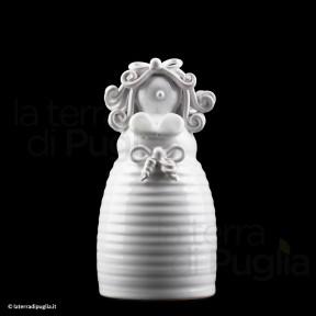 Handgemachte Keramikpuppe