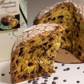 Artisan Easter cake chocolate panettone
