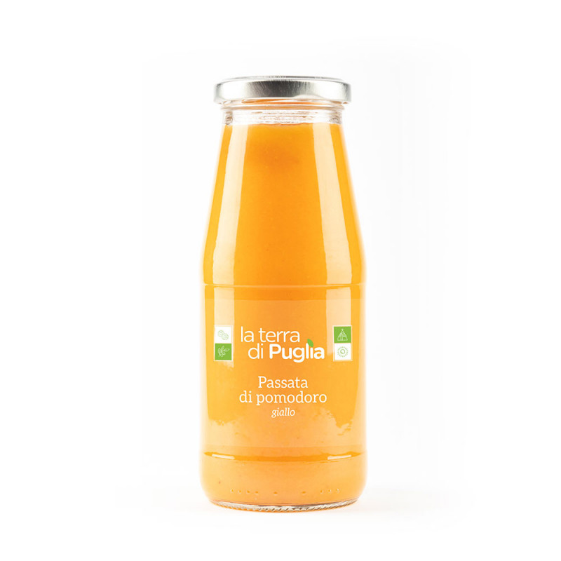 YELLOW tomato sauce 420gr