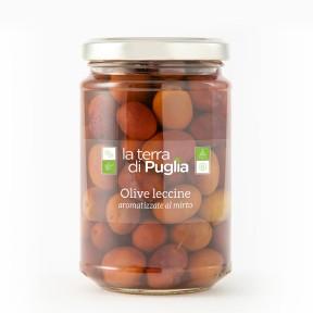 Olive leccine al mirto