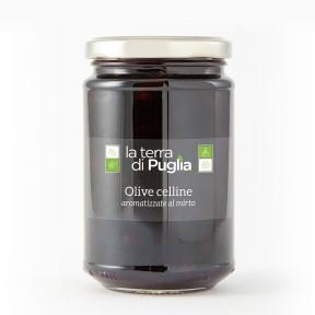 Celline olives with myrtle