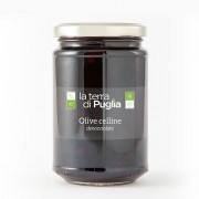 Pitted celline olives