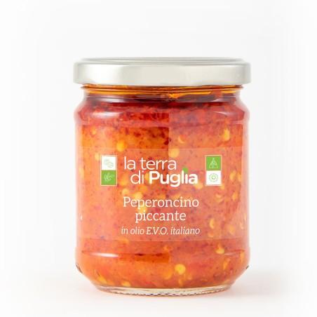 Peperoncino piccante in olio EVO