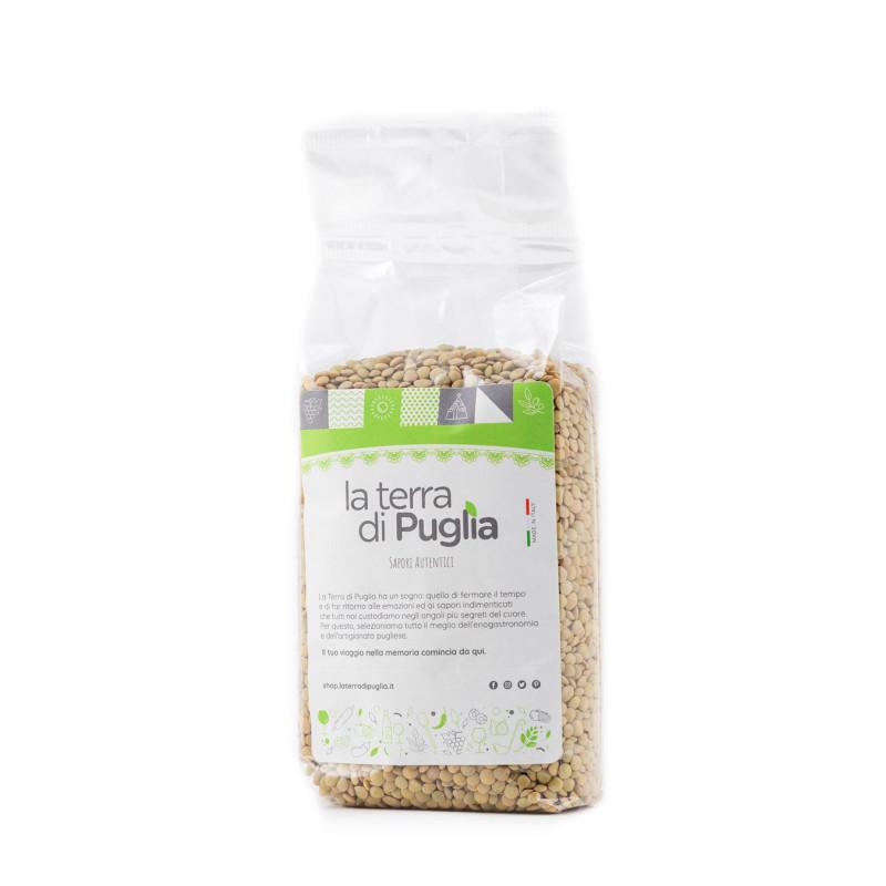 Apulian lentils 500gr