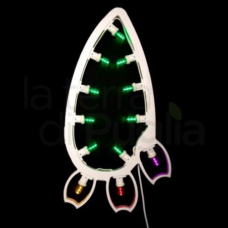 Hanging prickly pear-shaped luminaria