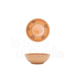 Petit bol en terre cuite marron