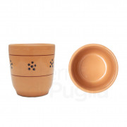 Pottery Glass Brown