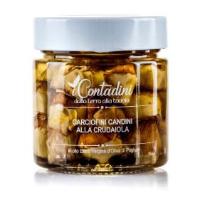 """Crudaiola Candini"" little artichokes"