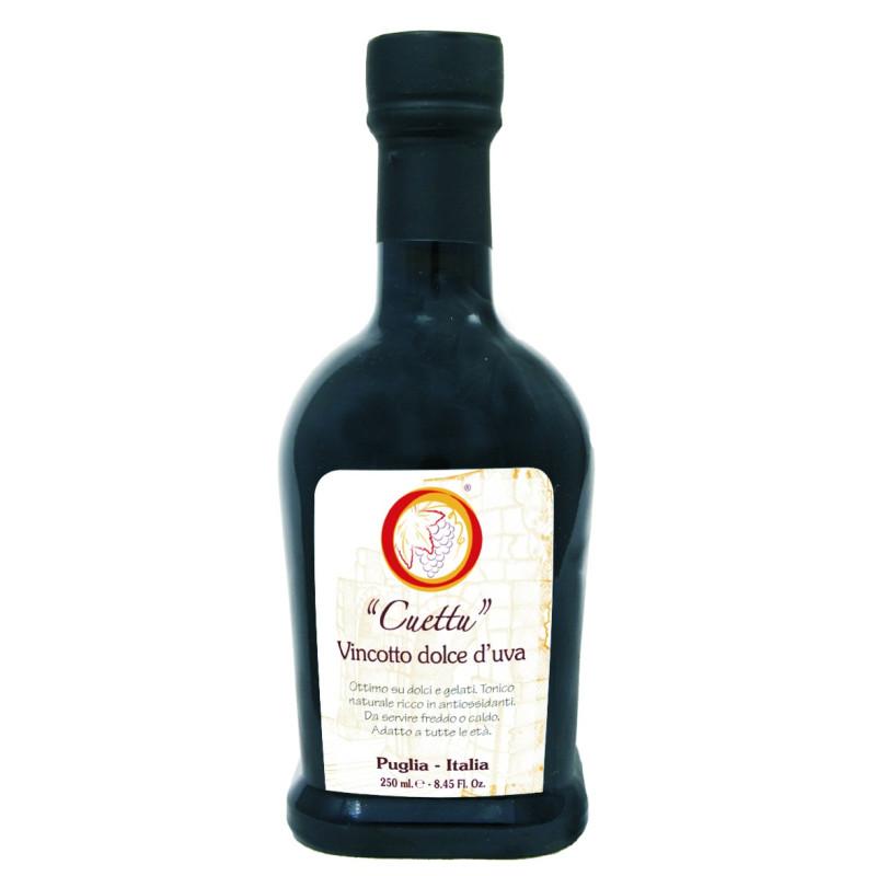 """Vincotto aux raisins doux """"Cuettu"""""""