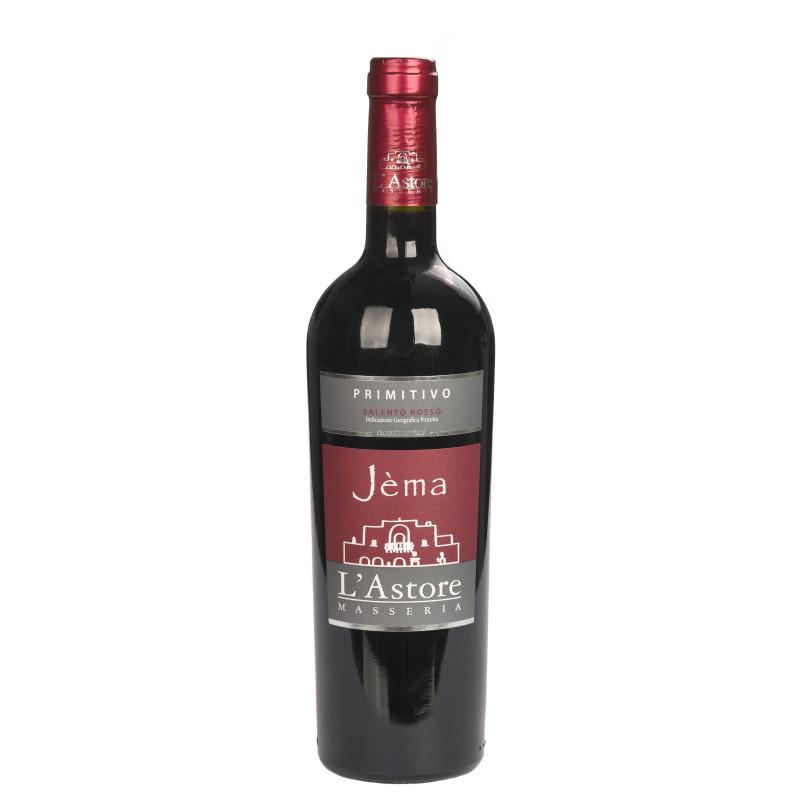 Jèma, Vin Rouge Biologique Primitivo