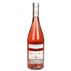 Massaro Rosa, Negroamaro rosé wine from organic grapes