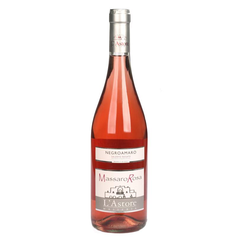 Massaro Rosa, Vino rosato Negroamaro da uve biologiche