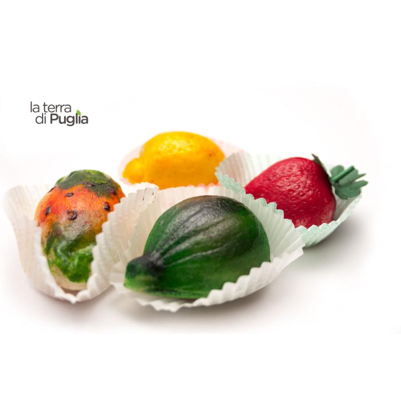 Frutta di pasta di mandorle martorana 280gr