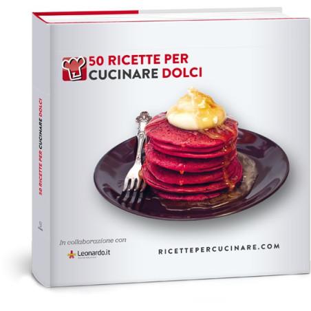 Libro di Cucina 50 ricette per cucinare DOLCI