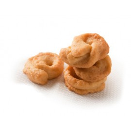 """Cheese and black pepper"" Handmade taralli"