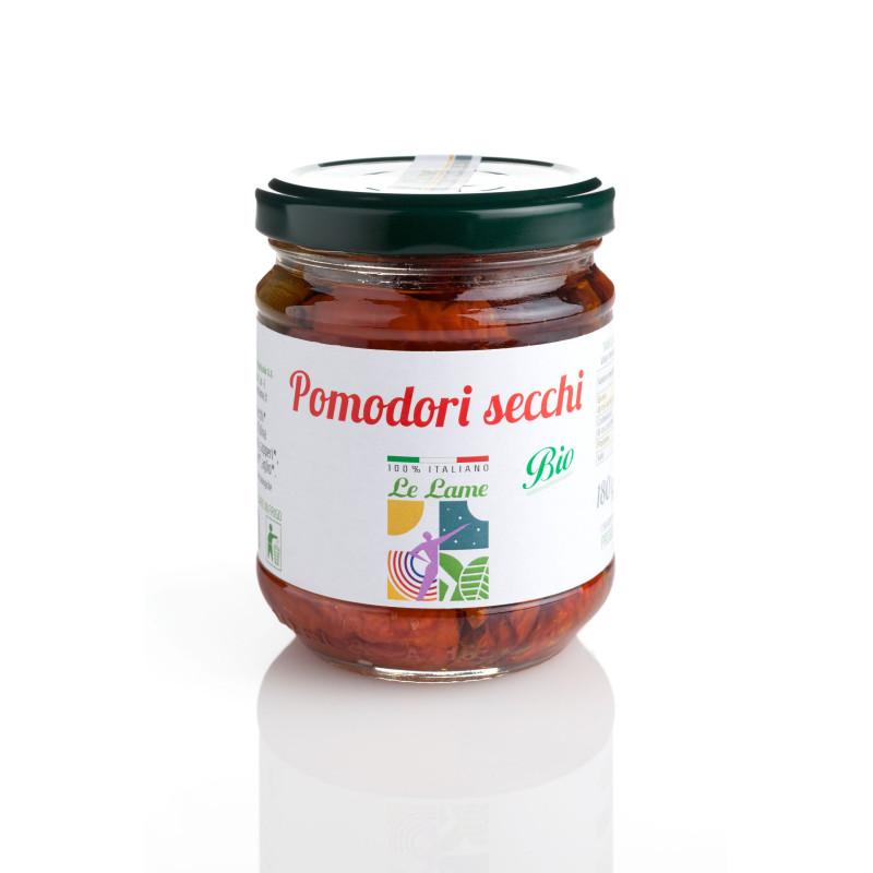 Tomates séchées bio à l'huile