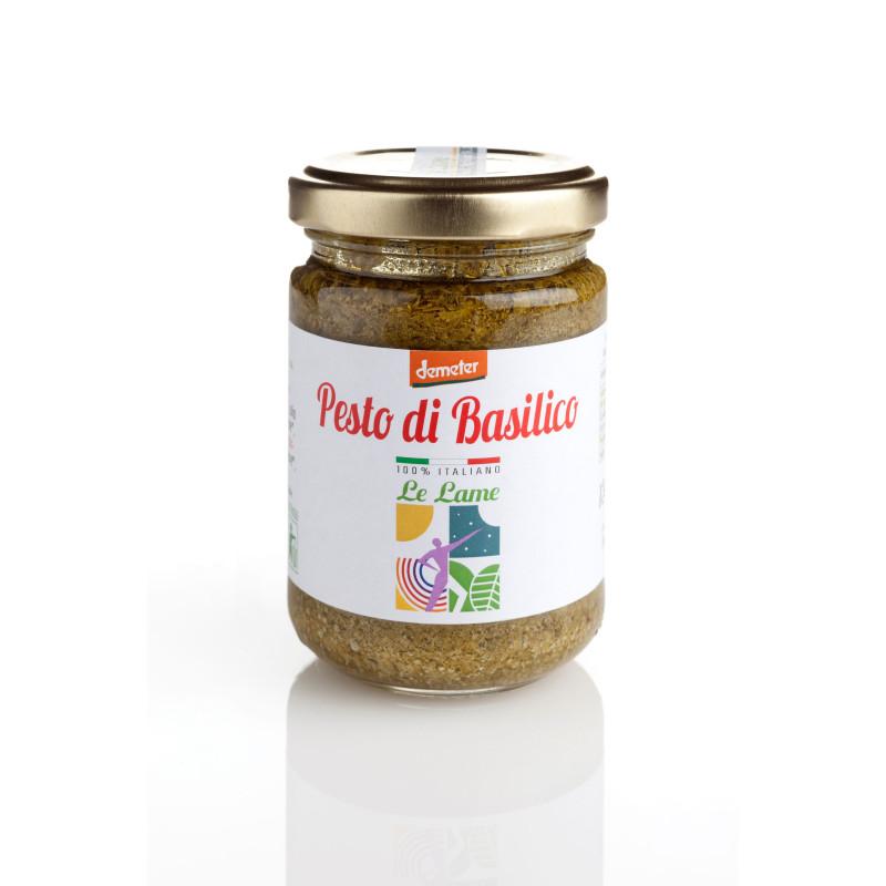 Pesto de basilic bio & Demeter